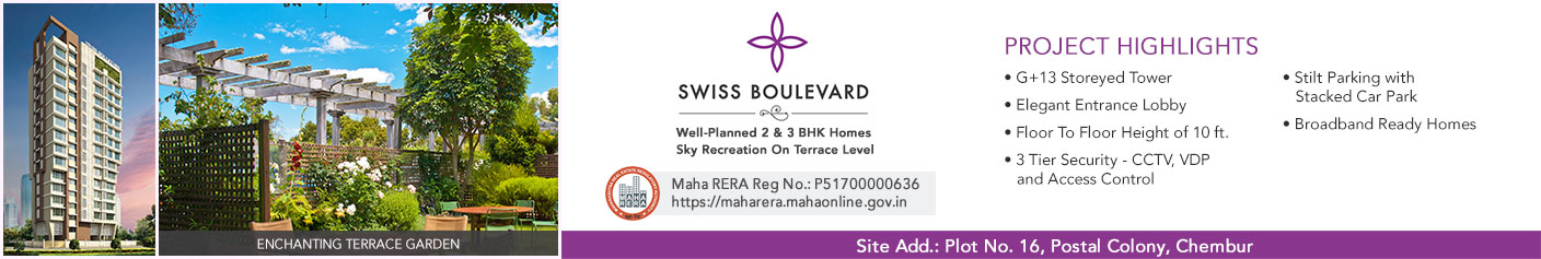 Swiss Boulevard in Chembur